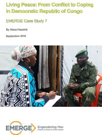 Living Peace EMERGE Case Study publication cover